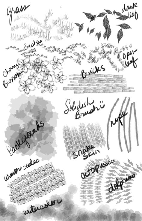 sketchbook pro brush sets sketchbook pro 7 brush set by skycladstrega on deviantart