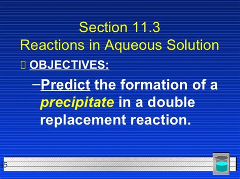 Section 3 Predicting The Products Of Chemical Reactions Answers by Chemistry Chp 11 Chemical Reactions Powerpoint