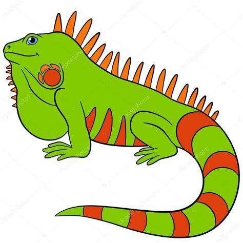 imagenes animadas de iguanas animales de la historieta sonrisas de iguana verde lindo