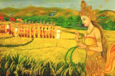 Dewi Sri hari soma ribek dan kutukan dewi sri mantra hindu bali