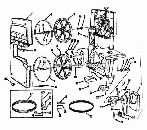 Craftsman 11324200 Parts List And Diagram