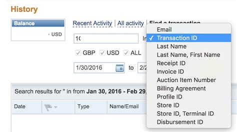 Search Paypal How To Search For Paypal Transaction Ids Which Are
