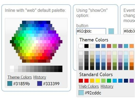 microsoft office style color picker plugin evol colorpicker free jquery plugins