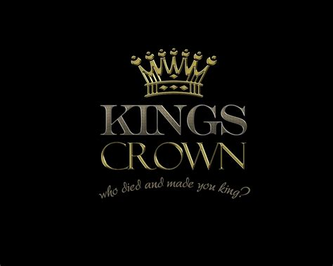photo collection king crown wallpaper logo