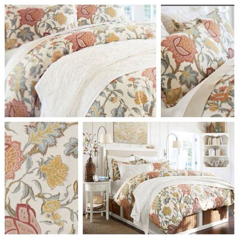 pottery barn coverlet pottery barn bedding cynthia palore pottery barn