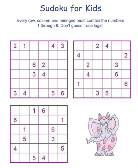 printable sudoku puzzles pdf printable sudoku puzzle 7 free pdf documents download