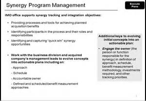 Synergy Cargo Management Tracking Synergy Program Management Synergy Identification