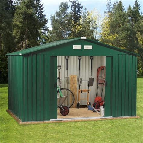 Tin Garden Sheds by How To Fix The Roof On Your Metal Shed Shed