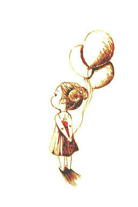 girl with balloon tattoo holding balloons my next