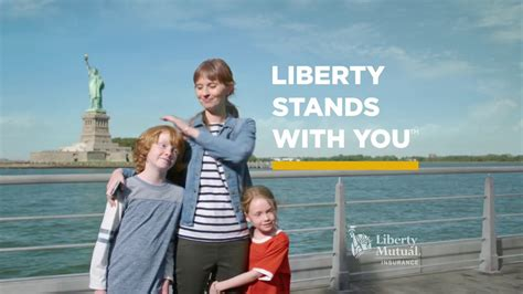 liberty mutual add actress big liberty mutual insurance tv commercial quick and easy