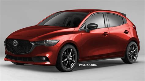 Mazda 2 Facelift 2020 by Next Mazda 2 Rendered Based On 2019 Mazda 3