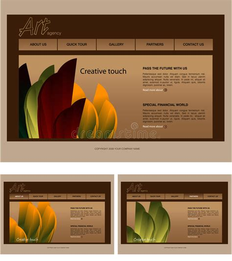Website Template Royalty Free Stock Images Image 6732419 Copyright Free Website Templates