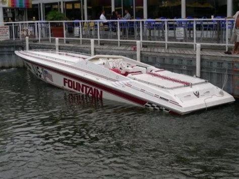 fountain offshore racing boats 1994 fountain lightning powerboat for sale in michigan