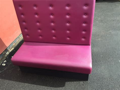 secondhand chairs  tables fixed tables  chairs booth seating