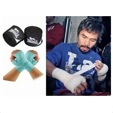 Sale Wrap Everlast Muay Thai Boxing Sepasang 4 5 M Simple Pack muay thai wraps price harga in malaysia