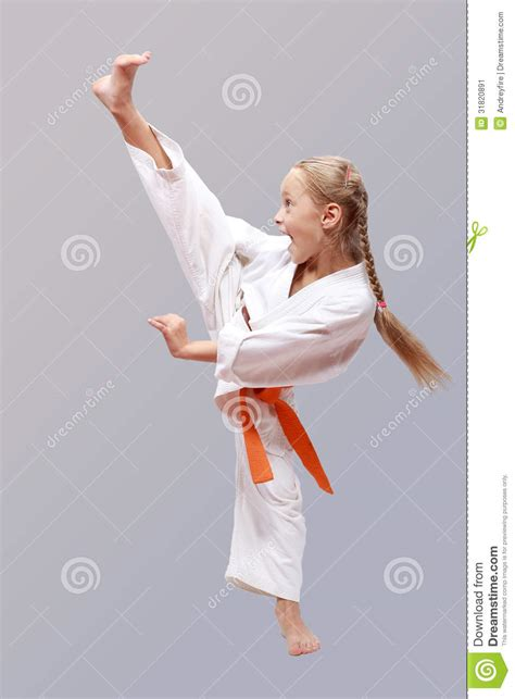 Karate The Masster Of Attack And Defence professional karate stock image image of defense