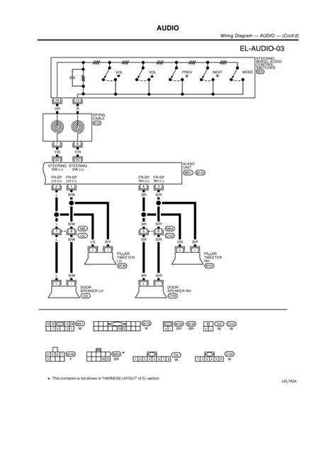 2000 nissan frontier stereo wiring diagram 2000 free