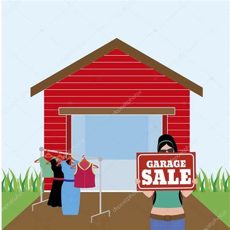 ventas de garaje venta garage vector de stock 169 laudiseno 78555594