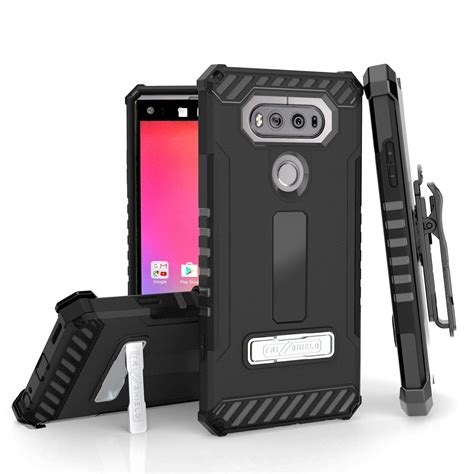Future Armor Kick Stand Defender Belt Clip Lg X Power store lg v20 nagebee tri shield hybrid rugged armor defender cover