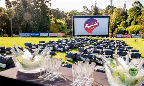 Botanical Gardens Outdoor Cinema Moonlight Cinema Adelaide
