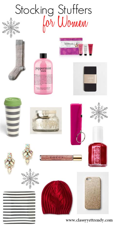 stocking stuff stocking stuffers for women classy yet trendy