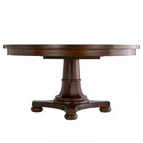 martha stewart dining table martha stewart grand lake pedestal table at 1stdibs
