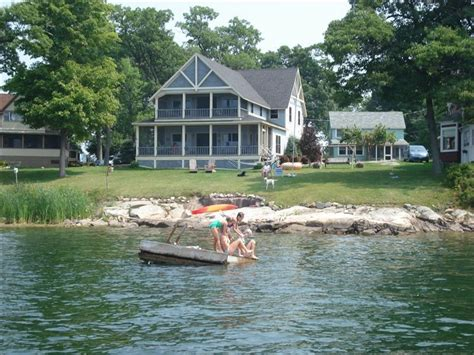 Thousand Island Cabin Rentals by Luxury Waterfront Home Thousand Island Park Vrbo