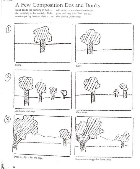 composition layout art composition do s and dont s homeschool pinterest