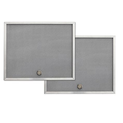 range hood fan filters shop broan undercabinet range hood grease filter aluminum