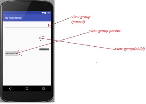 android layout xml group xml in android