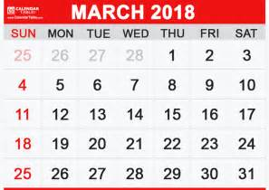 Calendar 2018 March And April Printable March 2018 Calendar Calendar Table Calendar Table