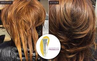 hair glaze color treatment pics comparing results of 4 shades of hair gloss from madison reed