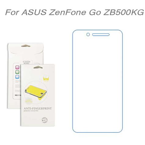 List Chrome Asus Zenfone Go B 45 45 New Softcasetpuultrathin for asus zenfone go zb500kg 3pcs lot high clear lcd screen protector screen protective