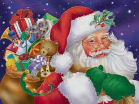 Santa clause christmas wallpaper 2736138 fanpop