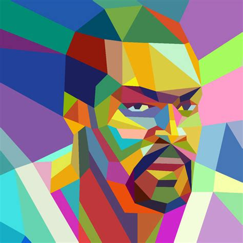 basketball pop art paintings cubism summermixtape