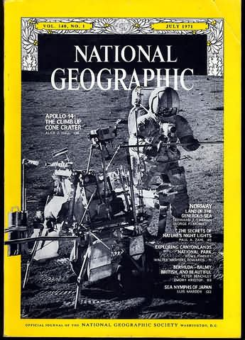 National Geographic 1971 Jual Satuan backissues national geographic july 1971 product details