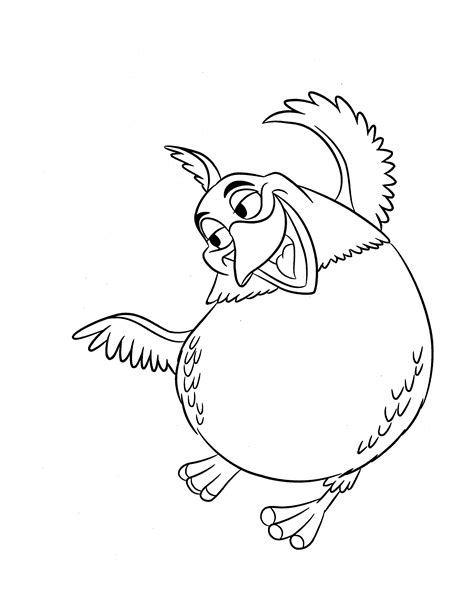rio birds coloring pages adventures tale of birds rio 20 rio coloring pages free