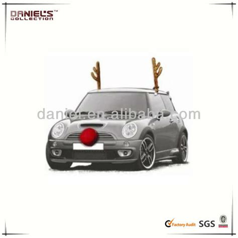 christmas car costume reindeer antlers car truck suv