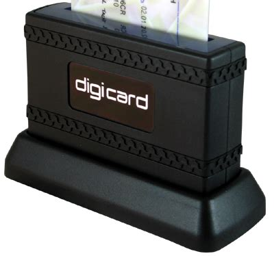 Card Reader 6slot Transparant digicardey itkshare