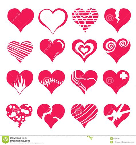 valentines sets icon set vector illustration
