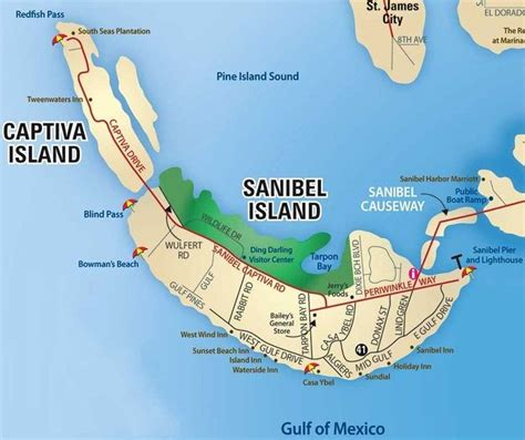 map of florida showing island 25 best ideas about sanibel island on