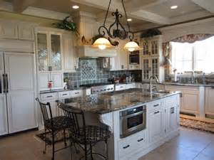 traditional kitchens with islands kitchen custom
