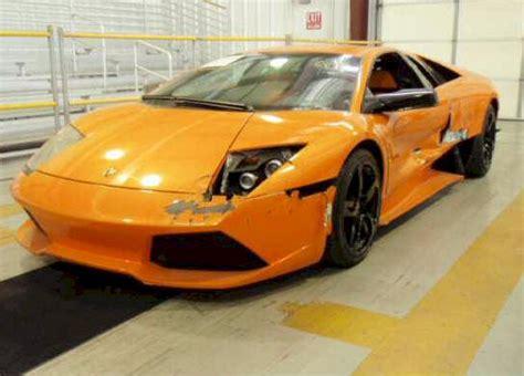 Wrecked Lamborghini by Wrecked Lamborghini For Sale
