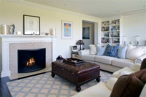 Neutral Living Room With Fireplace 20 Living Room Fireplace Designs Decorating Ideas