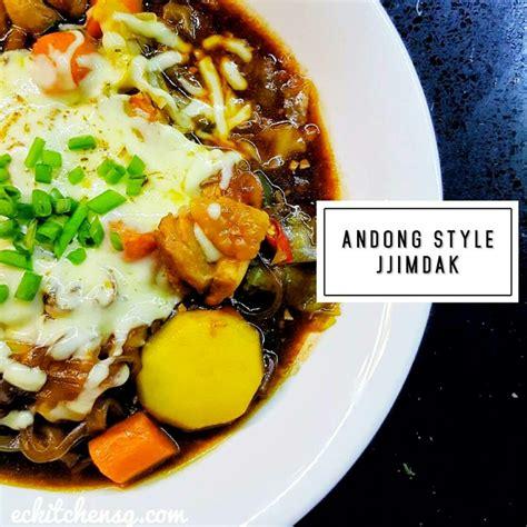 andong style jjimdak korean braised chicken eckitchensg