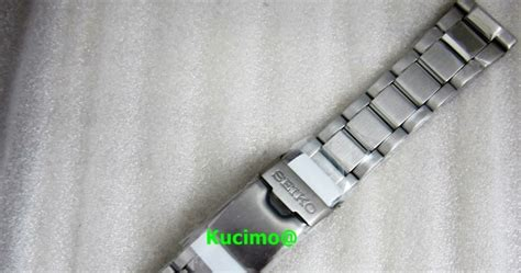 "K Watch: [SOLD] Bracelet for Seiko ""Tuna"" SBBN015"