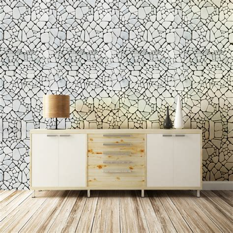 self adhesive removable wallpaper stone wallpaper peel and stone pebble pattern romane self adhesive peel stick