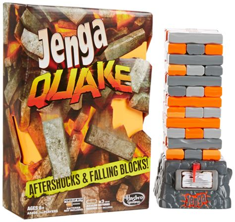 earthquake game jenga quake game from hasbro