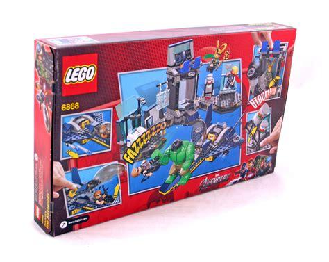 Murah Lego Superheroes 6868 S Helicarrier Breakout s helicarrier breakout lego set 6868 1 nisb building sets gt heroes gt marvel