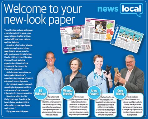 News Local Section by Newslocal Rebrands And Introduces Specialist Sections In